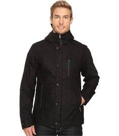 Nau Prato Wool Synfill Jacket Men's Coat Caviar Heather : MD