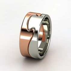Puzzle Ring. Like the idea but not the colours.
