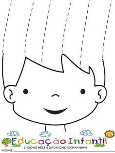 Cutting Activities, Teaching Activities, Motor Activities, Activities For Kids, Preschool Writing, Preschool Worksheets, Preschool Crafts, Childhood Education, Kids Education