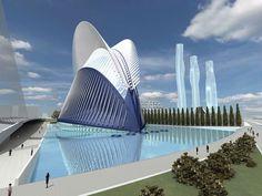 las ciencias las artes ciudad ahora santiago calatrava la ingenieros valencia arquitectos