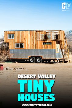 Now you can rent this beautiful & rustic tiny house called 'Peacock' on Airbnb. It's located near Sandy Valley, Las Vegas. Little Houses, Tiny Houses, Before And After Diy, Neutral Kitchen, Tiny House Plans, Outdoor Life, Hgtv, Curb Appeal, Las Vegas