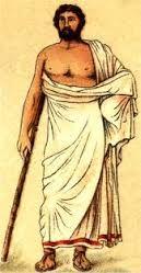 EXOMIDE: Rectángulo de tela sin costura que formaba una túnica
