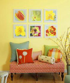 8 ideias de verão para decorar as paredes