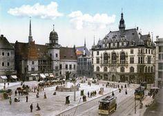 Halle/Saale um 1900 Germany