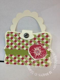 Stampin Up! Purse Christmas Gift Card