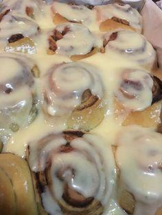 #iced #cinnammonrolls #cinnabons #marysmouthwatering