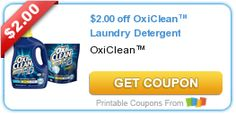 $2.00 off OxiClean™ Laundry Detergent