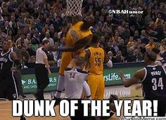 NBA Dunk of the Year! - http://nbafunnymeme.com/nba-dunk-of-the-year/