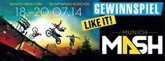 Gewinnspiel MUNICH MASH - gewinne Tickets für die Swatch Prime Line.. http://www.snowlab.de/gewinnspiel.php