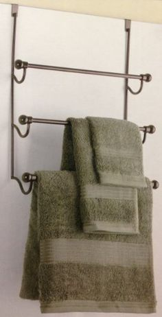 Scroll Over The Door Towel Rack Review At Kaboodle Bathroom Ideas