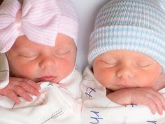 INFANTEENIE BEENIE twins baby girl or baby boy newborn hospital hat by  Infanteenie Beenie Perfect 40beb1102043