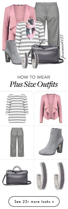 """""""Somewhere To Be #Plussize"""" by penny-martin on Polyvore featuring navabi, Boohoo, Samoon, Dune and Erica Lyons"""