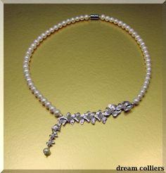 romantisches  Orchideen - Perlencollier von Dream-Colliers auf DaWanda.com