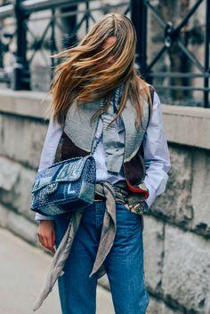 Jeans, New York, Chanel, Caroline Brasch Nielsen