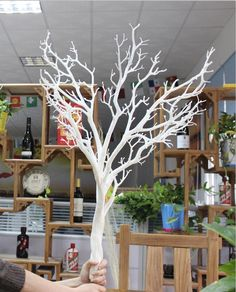 Good Quality Artificial White Dry Tree Branch Coral Photo, Detailed about Good Quality Artificial White Dry Tree Branch Coral Picture … Artificial Tree Branches, Fake Trees, Artificial Plants, Tree Branch Centerpieces, Tree Branch Decor, Dry Tree, White Branches, Wire Tree Sculpture, Picture Tree