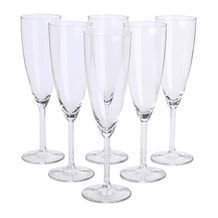 SVALKA champagne glasses from IKEA $6.99