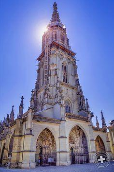 Das Berner Münster in Bern | The Bern Cathedral in Bern #Bern #Schweiz