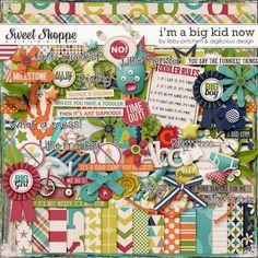 I'm A Big Kid Now by Libby Pritchett & Digilicious Design