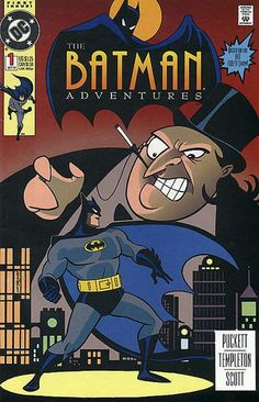 Based on the 90s animated series! Art by Ty Templeton in this early issue (another would be Bat-venture artist, but even at this point Ty cements his reputation as the pencilguin of adventure). Written by Kelley Puckett (co-created the Cassandra Cain Batgirl - not a dream, not a hoax, not an adventure).