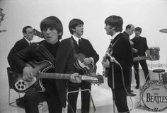 During the filming of A Hard Day's Night, 1964