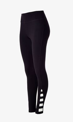 Black Cutout EXP Core Legging from EXPRESS