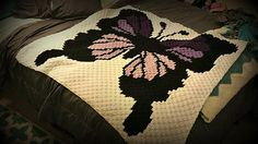 Thank you for considering one of our Corner to Corner (C2C) graphs and instructions. This Butterfly graphghan pattern comes in a pdf format that includes a full size graph, a graph scaled down to print on one page, a color coded row by row word chart, a black and white word chart and basic instructions for the C2C. So whether you prefer to work from a graph or hate the counting and like it written out, this pattern has both.
