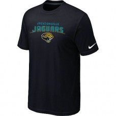 Cheap Men Jacksonville Jaguars Heart And Soul Short Sleeved Black T-Shirt Sale_Jacksonville Jaguars T-Shirts