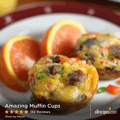 """Amazing Muffin Cups by Johnsonville Sausage 