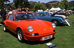 Porsche 911 Carrera RS from 1973 #montereycarweek