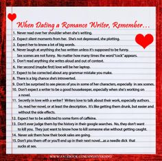 Dating a Writer?
