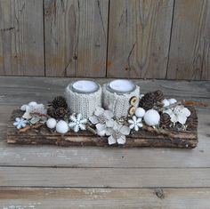 15 Fabulous Christmas Candle Decoration Ideas To Delight Your Holiday- Rustic Natural Winter Decoration; Christmas Candle Decorations, Christmas Candles, Winter Christmas, Christmas Home, Christmas Wreaths, Christmas Ornaments, Table Decorations, Art Floral Noel, Deco Table Noel