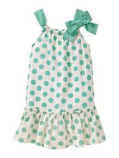Bow dot dress | Gap yep gotta have it