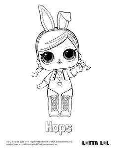 Snow Bunny Lol Coloring Pages - coloringpages2019