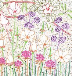 Jill Bliss's blissful pointillism