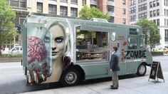 The CW's 'iZombie' food truck