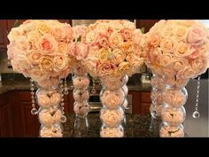 (23) DIY Fishbowl Wedding Centerpieces From Elegant Creators - YouTube