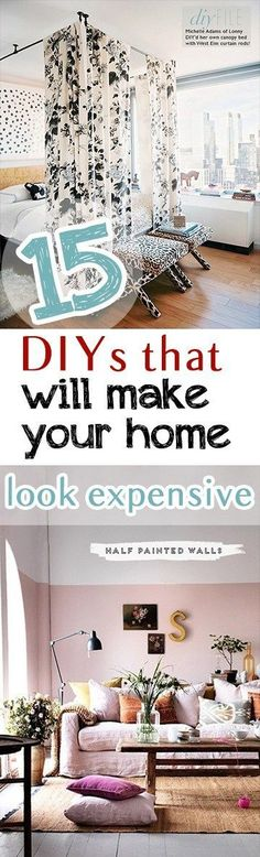 How to Make Your Home Look Expensive, Expensive Looking DIYs, Easy DIYs for the Home, Home Upgrades, Easy Home Improvements, Popular Pin, Home Improvements to Do in a Day