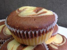 architettando in cucina: Muffin variegati alla panna ... sofficissimi Colazione