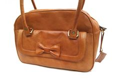 Woman Ribbon Leather Tote Bag by CoruscateLeatherBag on Etsy, $180.00