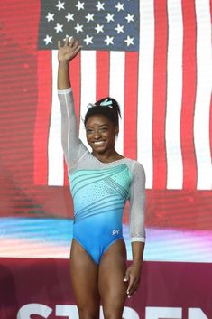 Simone Biles makes history as first woman to win four all-around world titles - USAToday.com 20181101 Gymnastics Competition Leotards, Gymnastics World, Girls Gymnastics Leotards, Gymnastics Outfits, Sport Gymnastics, Artistic Gymnastics, Olympic Gymnastics, Dance Leotards, Olympic Games