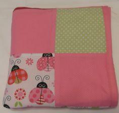 Ladybug Quilt, Ladybug Baby Bedding, Ladybug Blanket, Ladybug Quilted Blanket,. $40.00, via Etsy.