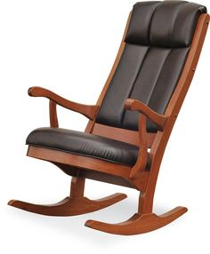 Amish Modern Rocker.. Now that's my kind of rocking chair!