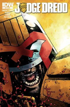 Judge dredd #6. Cover by Zach Howard.