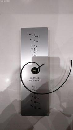 Horloge Fibonacci en Spirale