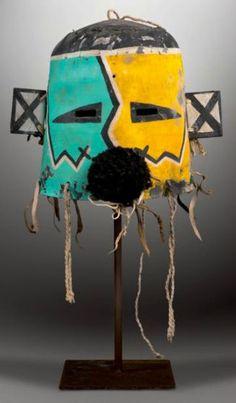 Hopi Kachina masks created between 1880 and 1910. www.occidentalphotography.com