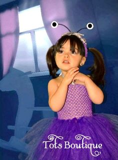 Boo Monster's Inc University Inspired Tutu Dress by TotsBoutique, $35.00