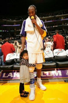 Kobe Bryant of the Los Angeles Lakers participates in a post-game. Kobe Bryant Family, Kobe Bryant 8, Lakers Kobe Bryant, Bryant Basketball, Staples Center, Houston Rockets, Los Angeles Lakers, Interview, Kobe Bryant Daughters