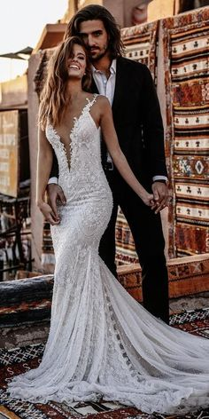 24 Summer Wedding Dresses To Make Your Celebration Great ? summer wedding dresses sheath deep v lace beach tali photography ? : 24 Summer Wedding Dresses To Make Your Celebration Great ? summer wedding dresses sheath deep v lace beach tali photography ? Outdoor Wedding Dress, Sexy Wedding Dresses, Wedding Gowns, Hair Wedding, Lace Dresses, Bridesmaid Dresses, Beautiful Wedding Dress, Delicate Wedding Dress, Boho Wedding Dress Backless