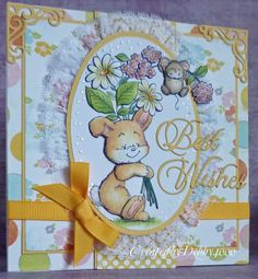 A Scrapjourney: Best Wishes Bunny
