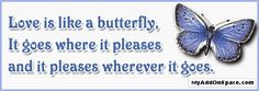 Like a butterfly Graphic plus many other high quality Graphics for your Facebook profile at KewlGraphics.com.
